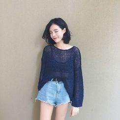 MISS YOYO - Open Knit Sweater