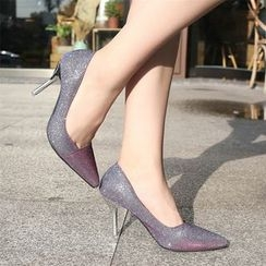YIVIS - Glitter Pointed Pumps