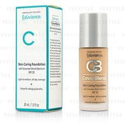 Exuviance - CoverBlend Skin Caring Foundation SPF20 (Honey Sand)