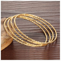 Tenri - 18K Gold Plate Bangle