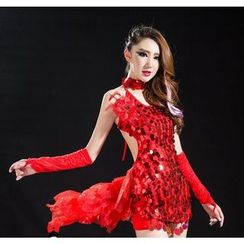 Jazzstage - Sequined Bodycon Dance Dress