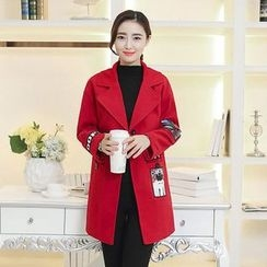Neeya - Woolen Long Coat