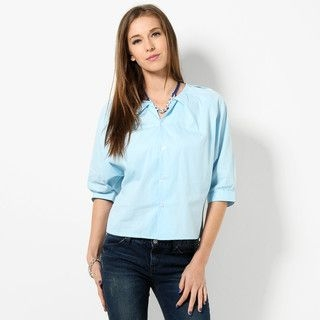 YesStyle Z - Batwing Sleeve Blouse