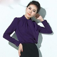 Aision - Shirred Blouse