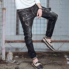 Dot2Dot - Distressed Jeans