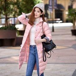 Romantica - Snap-Button Padded Coat