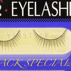 D-up - Eyelashes - Straight Type (#102)