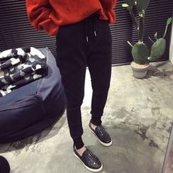 YUKISHU - Drawstring Jogger Pants