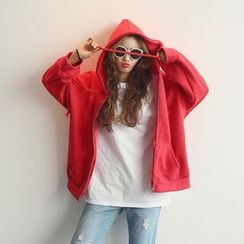 NANING9 - Cotton Oversized Hoodie