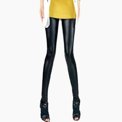 Chuba - Faux Leather Leggings