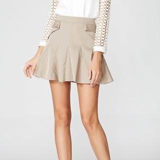 O.SA - Godet A-Line Skirt