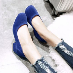 JY Shoes - Block Heel Pumps