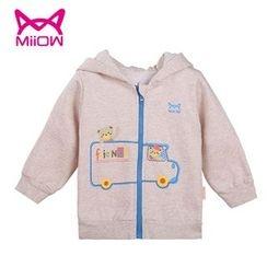 MiiOW - Kids Printed Hooded Jacket