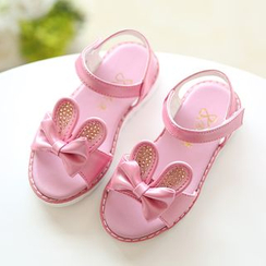 Luco - Kids Rabbit Ear Bow Sandals