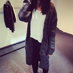 FR - Mélange Long Cardigan