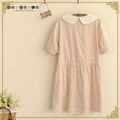 Maymaylu Dreams - Short-Sleeve Floral Dress
