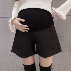 Dadada - Maternity Wide Leg Shorts