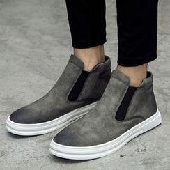Shino - 厚底高帮轻便鞋