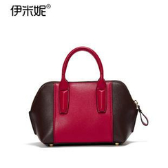 Emini House - Genuine Leather Tote with Strap
