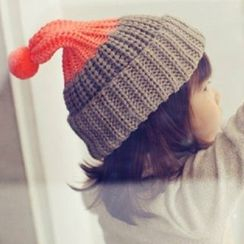 EVEN - Kids Color-Block Knit Beanie