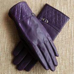 RGLT Scarves - Quilted Wool Blend Gloves