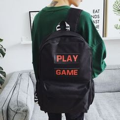 qiaqiayes - Lettering Backpack