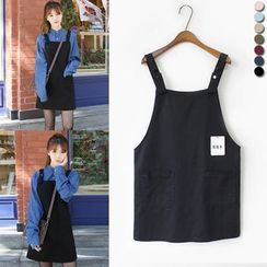 Sienne - Denim Jumper Dress