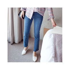 MASoeur - Washed Boot-Cut Jeans