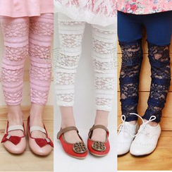 Seashells Kids - Kids Lace Panel Pants