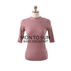 Chlo.D.Manon - Crew-Neck Slim-Fit Knit Top