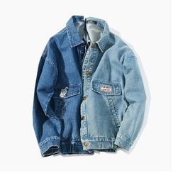 ZZP HOMME - Applique Denim Jacket