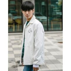 STYLEMAN - Snap-Button Lettering Jacket