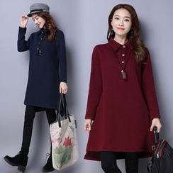 Yeeya - Long-Sleeve Polo Dress