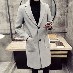 YONDER - Notched-Lapel Buttoned Coat
