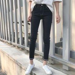 EEKO - Embroidered Skinny Jeans