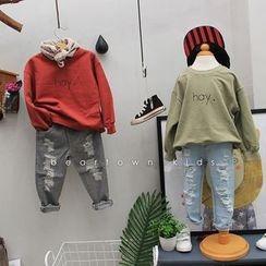 Bear Town - Kids Lettering Sweatshirt