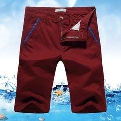 Neptuno - 滾邊短褲