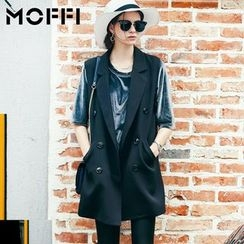 MOFFI - Letter Perforated Long Vest