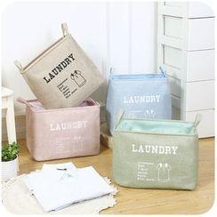 Momoi - Lettering Laundry Basket