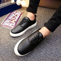 Araeo - Faux Leather Casual Shoes