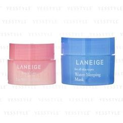 Laneige - Goodnight Sleeping Care Kit: Water Sleeping Mask 15ml + Lip Sleeping Mask 3g