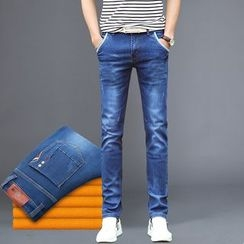 Denimic - Fleece Lined Jeans
