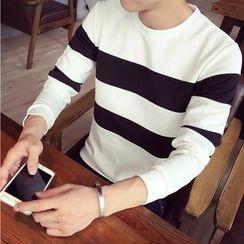 Denimic - Striped Pullover