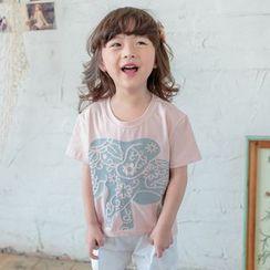 柠檬嘟嘟 - 小童短袖印花T恤