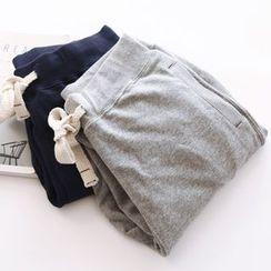 Bonbon - Plain Sweatpants