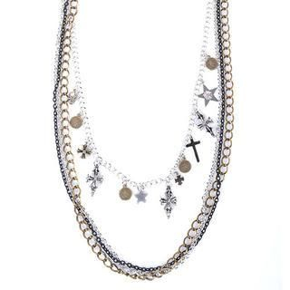 deepstyle - Pendant-Accent Layered Necklace