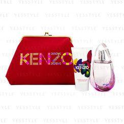 Kenzo - Madly Coffret: Eau De Toilette Spray 50ml/1.7oz + Creamy Body Milk 50ml/1.7oz + Pouch