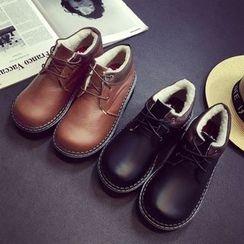 SouthBay Shoes - Platform Lace-Up Shoes