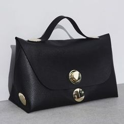 Sonne - Faux-Leather Hand Bag