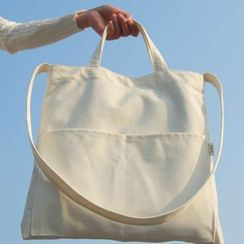 Ms Bean - Canvas Tote Bag